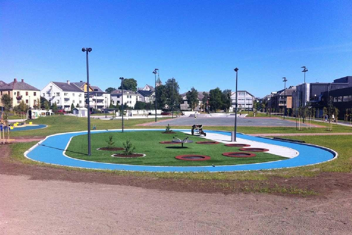 Stadionparken i Levanger