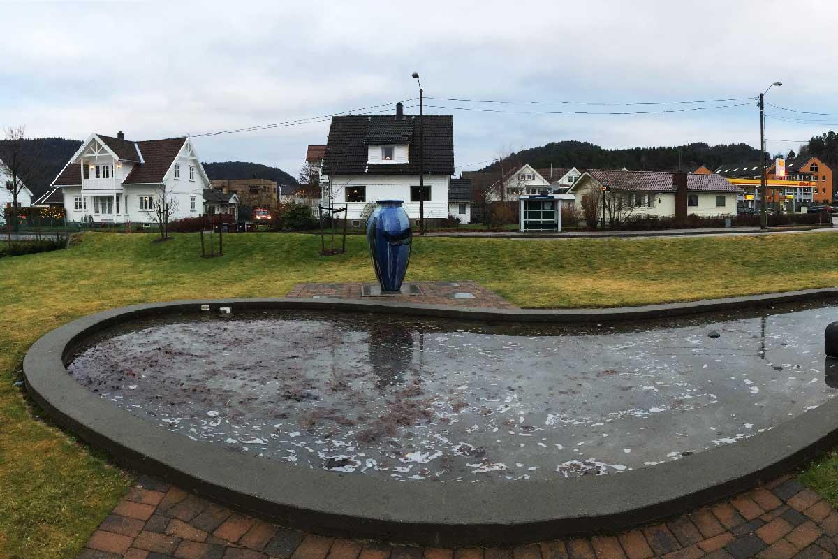 Haugenparken i Songdalen