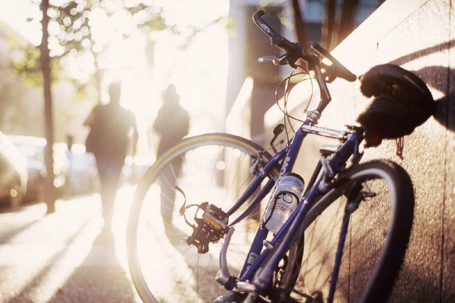 Sykkel i by