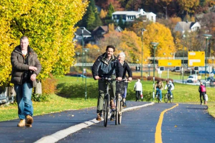 Kristiansand satser på sykkel