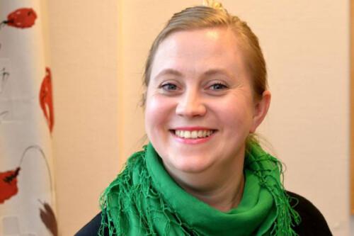 Marthe Bakken får utmerkelse for sitt gode arbeid som samfunnsplanlegger